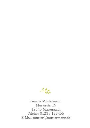 Ansicht 2 - Kommunion Einladungskarte Blumenkreuz