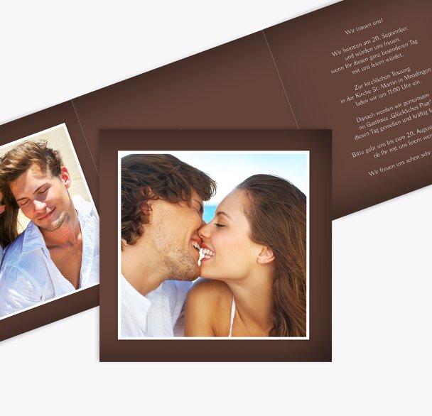 Hochzeit Einladungkarte ewige Verbindung