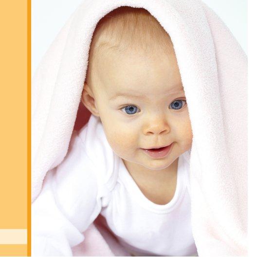Ansicht 7 - Baby Dankeskarte klangvolle Streifen