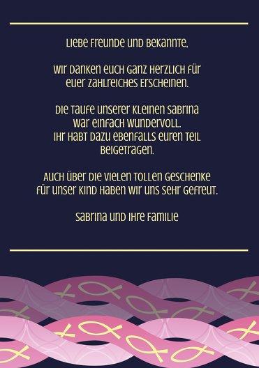 Ansicht 5 - Dankeskarte Ichthys
