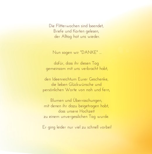 Ansicht 4 - Hochzeit Danke Liebeszauber