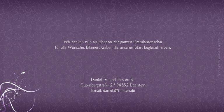 Ansicht 2 - Hochzeit Danke Din butterfly