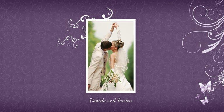Ansicht 5 - Hochzeit Danke Din butterfly