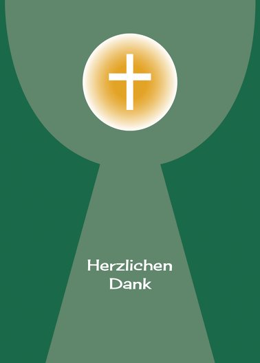 Ansicht 2 - Konfirmation Danke Kelch mit Hostie