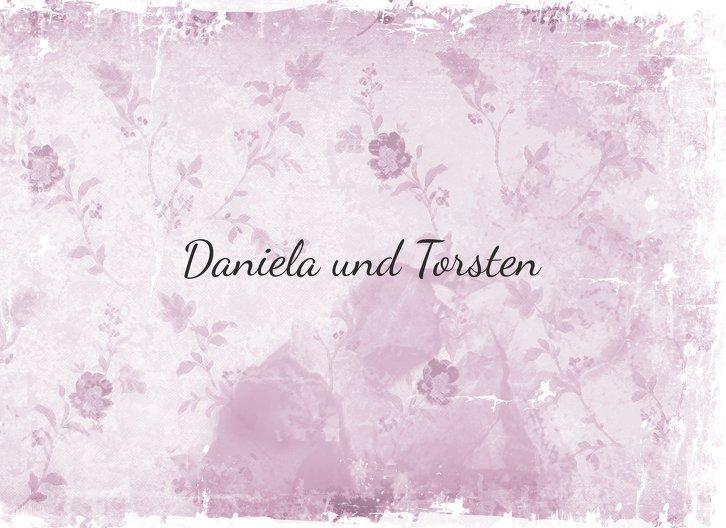 Ansicht 7 - Hochzeit Einladung Din romantische Liebe