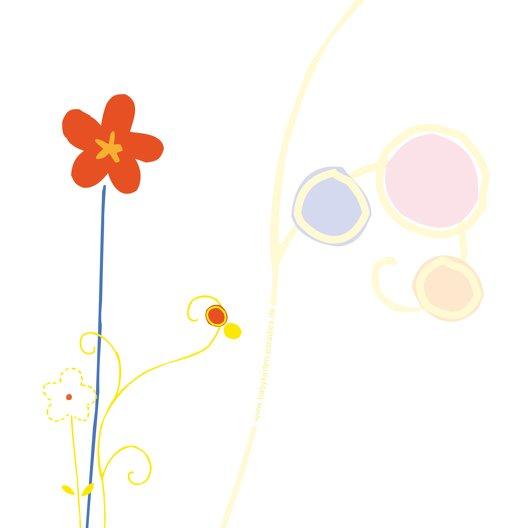 Ansicht 2 - Babykarte Zauberblumen