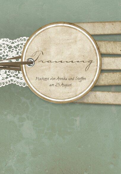 Ansicht 3 - Kirchenheft Umschlag Vintage Lace