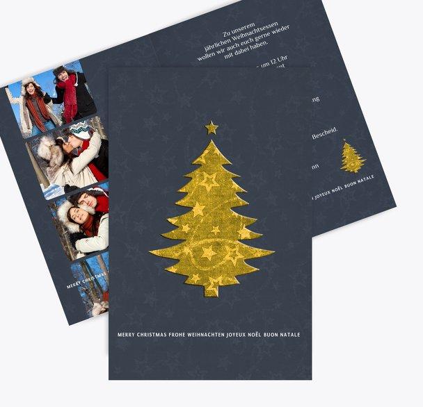 Foto Einladung Baum