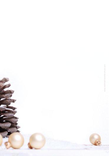 Ansicht 2 - Menükarte Weihnachtsengel