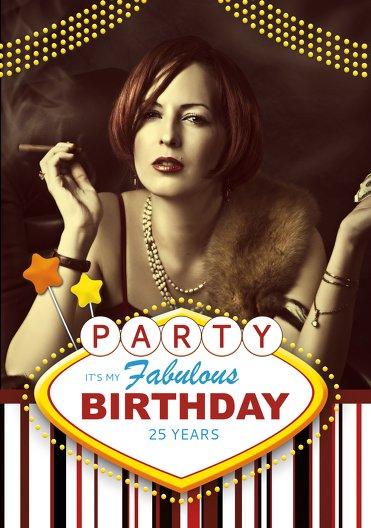 Ansicht 3 - Geburtstagskarte Fabulous Las Vegas Foto
