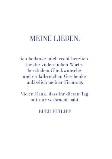 Ansicht 5 - Firmung Dankeskarte Himmelreich