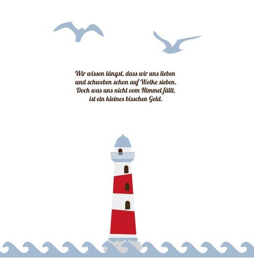 Ansicht 5 - Hochzeit Einladung Leuchtturm