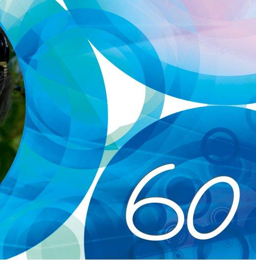 Ansicht 7 - Einladungskarte colorful circles 60 Foto
