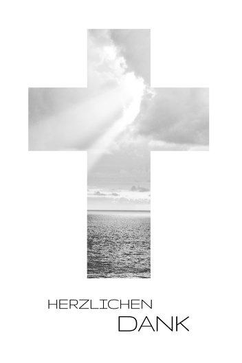 Ansicht 3 - Dankeskarte Himmelskreuz