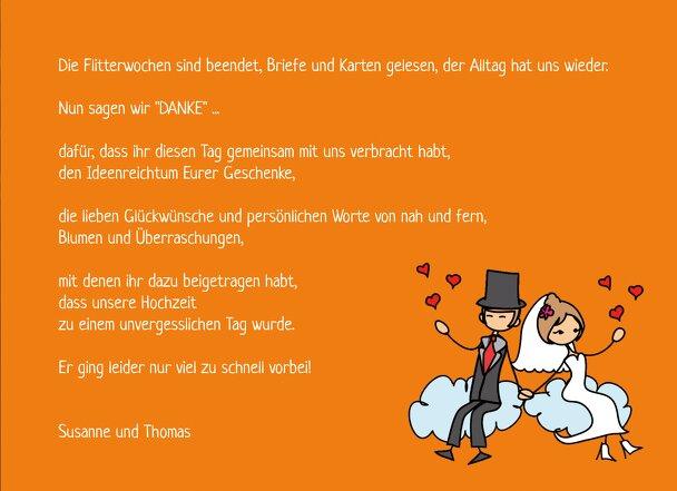 Ansicht 5 - Hochzeit Dankeskarte Comic Brautpaar
