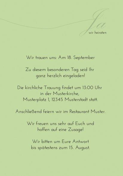 Ansicht 5 - Hochzeit Einladungskarte suits