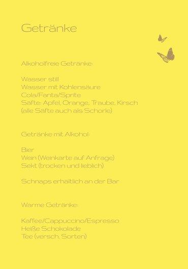 Ansicht 4 - Menükarte Kommunion Butterfly