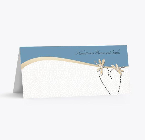 Hochzeit Tischkarte Unzertrennlich