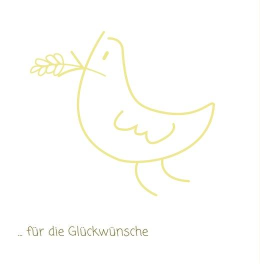 Ansicht 2 - Konfirmation Dankeskarte Gräser