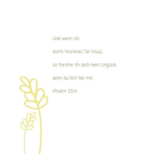 Ansicht 7 - Konfirmation Dankeskarte Gräser