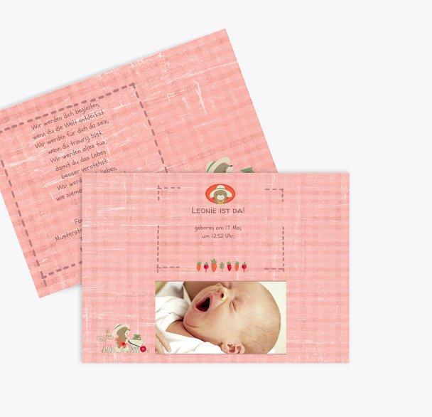 Geburtskarte Paper