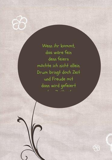 Ansicht 4 - Einladungskarte Fantasyflower 18