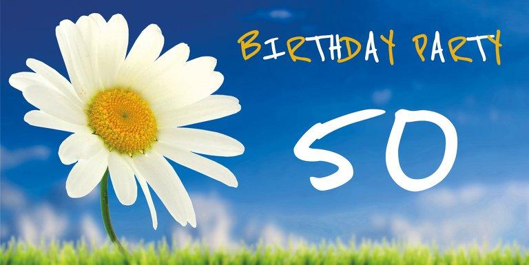 Ansicht 3 - Geburtstagseinladung Lebensfreude 50