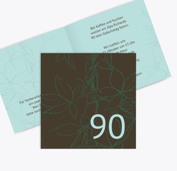 Einladung Herbst 90