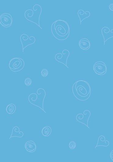 Ansicht 2 - Hochzeit Menükarte curly hearts