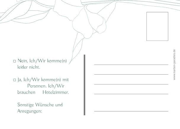 Ansicht 3 - Antwortkarten Zahrte Blume