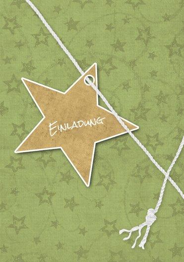 Ansicht 3 - Einladung Sternenschnur