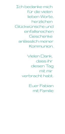 Ansicht 5 - Kommunion Dankeskarte Taube