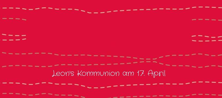 Ansicht 3 - Tischkarte Kommunion Wellen Kreuz