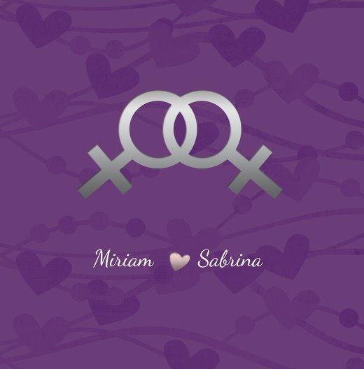 Ansicht 3 - Einladung Im Zeichen der Liebe - Frauen