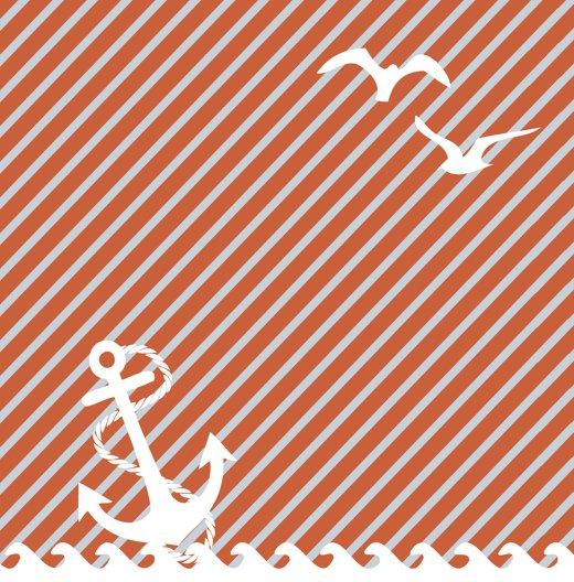 Ansicht 2 - Hochzeit Dankeskarte Leuchtturm