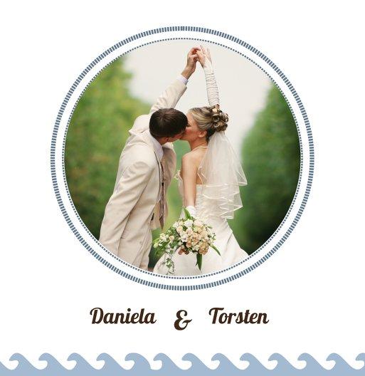 Ansicht 6 - Hochzeit Dankeskarte Leuchtturm