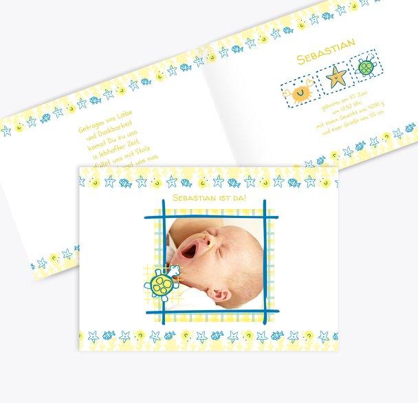 Geburtskarte Smart