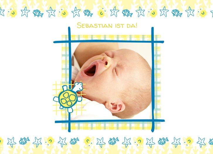Ansicht 3 - Geburtskarte Smart