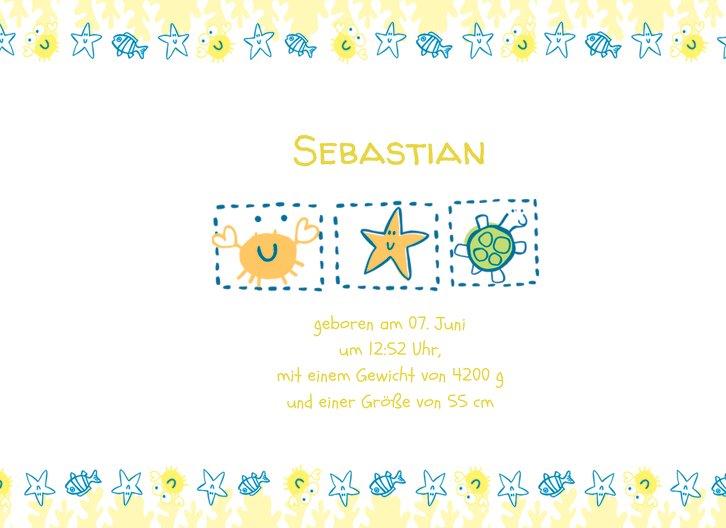 Ansicht 5 - Geburtskarte Smart