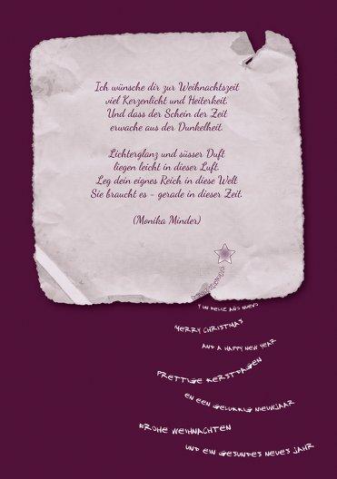 Ansicht 4 - Einladung Schriftbaum