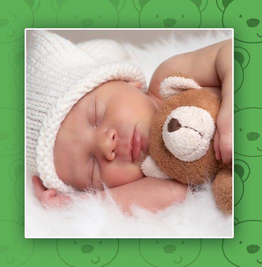 Ansicht 5 - Babykarte Bärchen