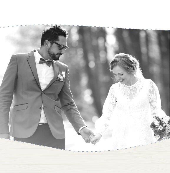Ansicht 4 - Hochzeit Dankeskarte Sternenbild
