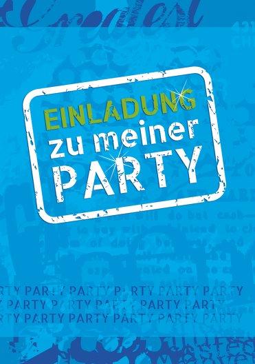 Ansicht 3 - Geburtstagskarte Party Foto