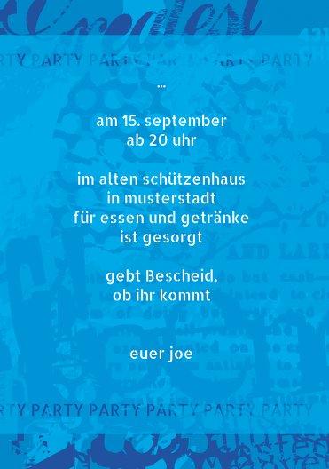 Ansicht 5 - Geburtstagskarte Party Foto
