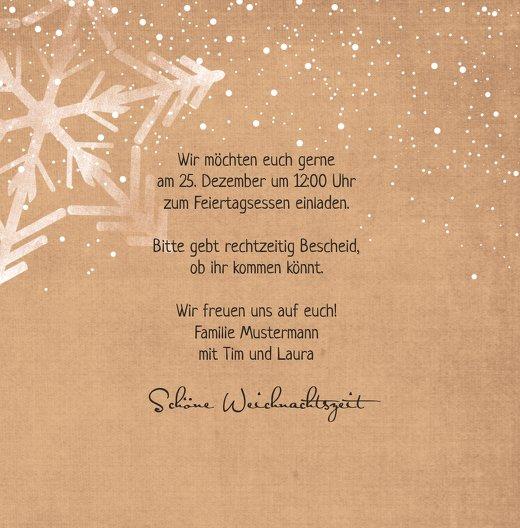 Ansicht 5 - Einladung Schneestern