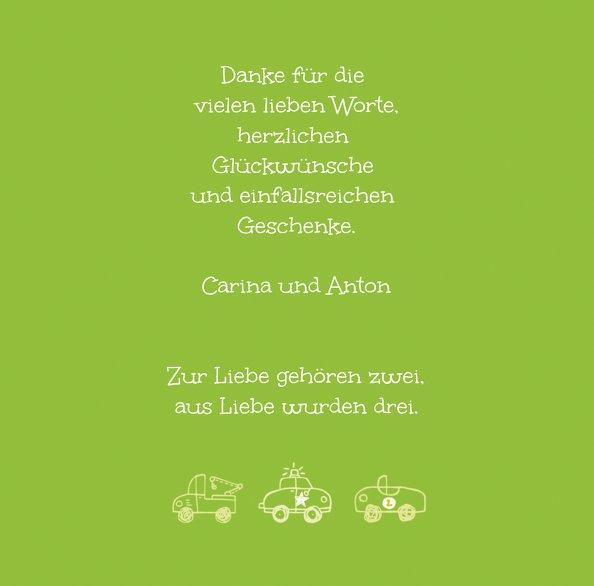 Ansicht 5 - Baby Dankeskarte Mobil