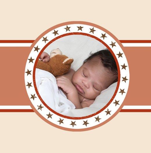 Ansicht 4 - Baby Dankeskarte Stern