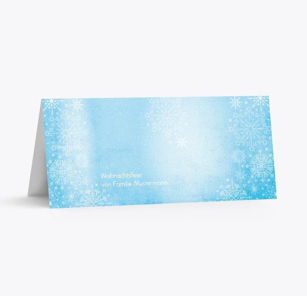 Tischkarte Wintertraum