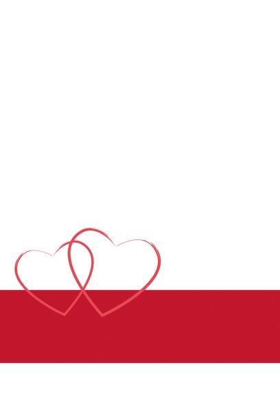 Ansicht 4 - Hochzeit Kirchenheft Umschlag Herzensband