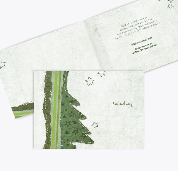 Einladung Stoffbaum